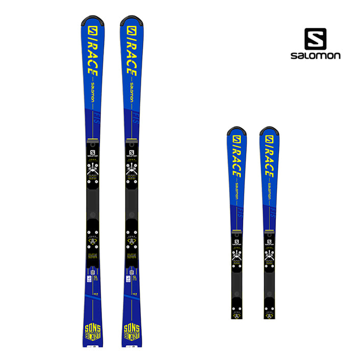 20/21 살로몬 S/레이스 FIS 회전스키 157 SALOMON SKIS I S/RACE FIS SL 157 Blue/Yellow L41143200